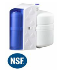 Hook up water softener to reverse osmosis